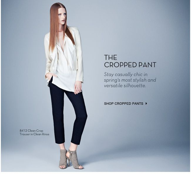 J Brand - Spring Essential: The Cropped Pant