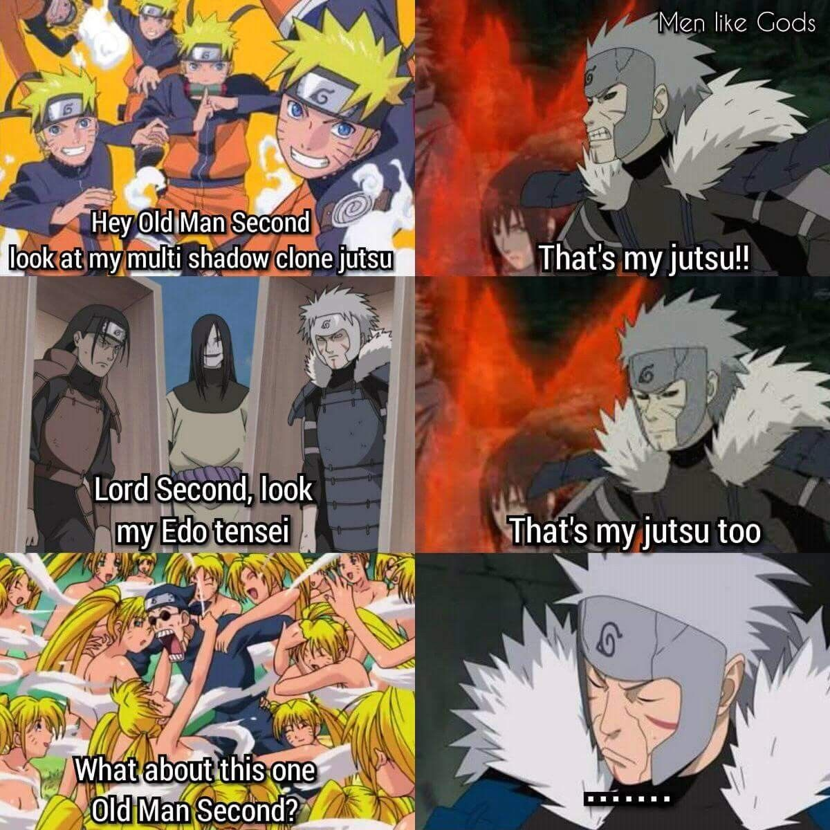 Haha Poor Naruto Is Ignored Again By Sakura: Haha Poor Tobirama, At Least He Didn't Invent Sexy Jutsu ️