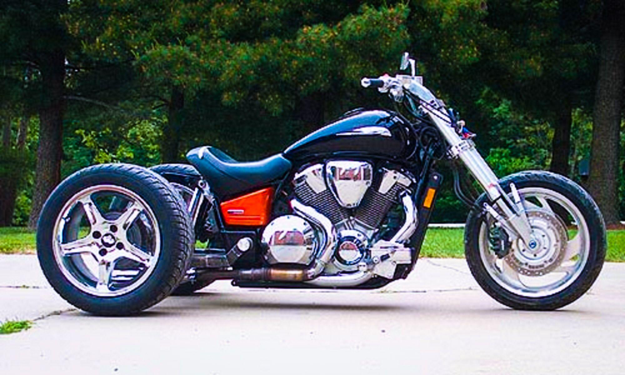Mid MO MC Mid Missouri Motorcycles Honda VTX1800 Trike
