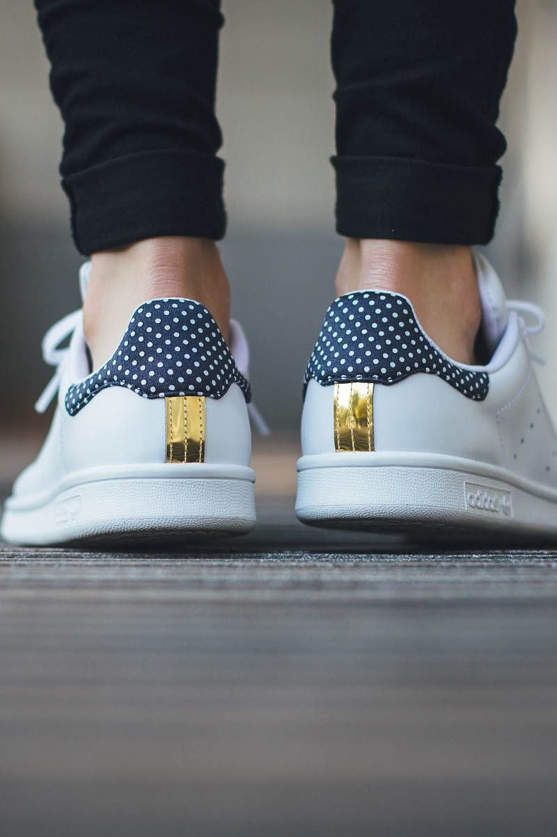 ADDIDAS Stan Smith dots #adidas | Adidas shoes outlet ...