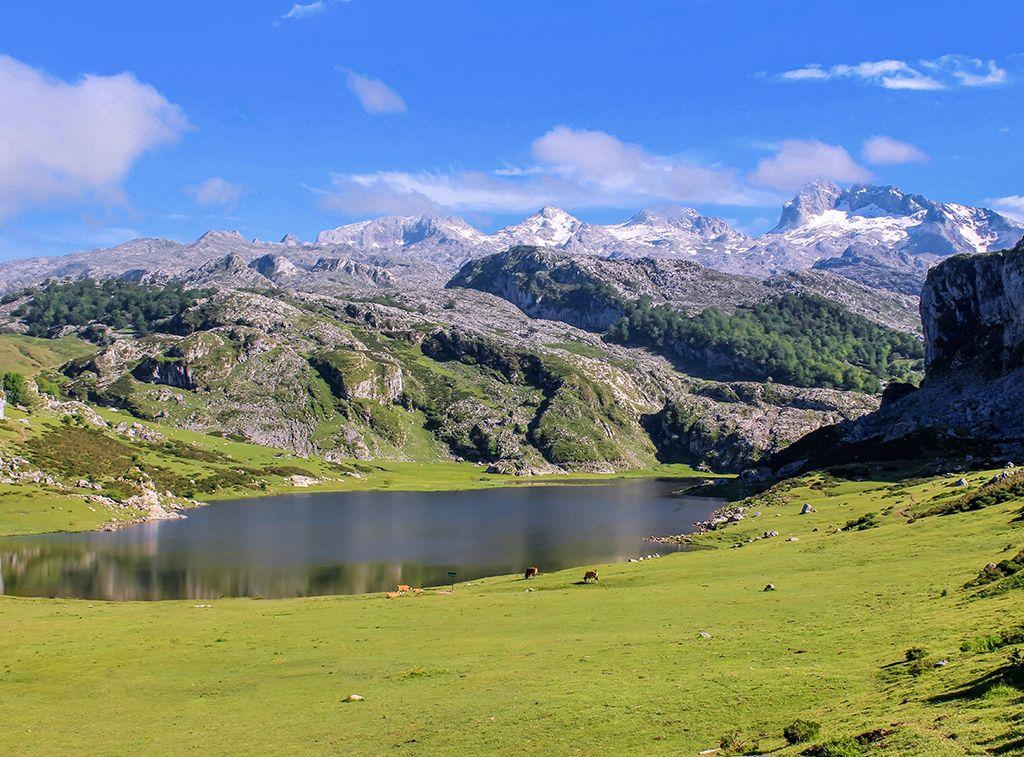 Lago Ercina Lagos De Covadonga Lagos De Montaña España Turismo Lagos De Covadonga Viajar Por España