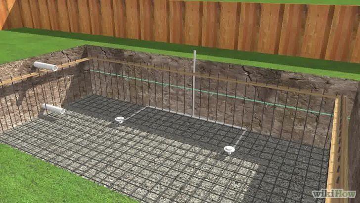 Build a Swimming Pool | Gunite Pool Plumbing | Building a ...