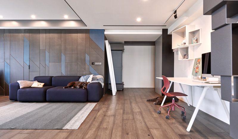 Golden Beauty Design DOGS ARE THE BOSS on Behance living room
