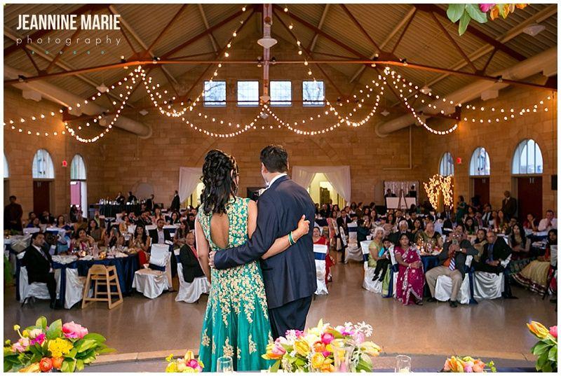 Harriet Island Pavilion Hindu Wedding Indian Bride Groom Reception Decor Www Jeanninemarie
