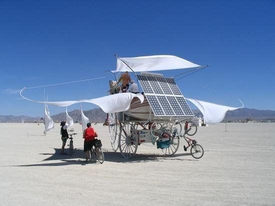Professor Bob Schneeveis Daisy The Solar Powered Tricycle Solar