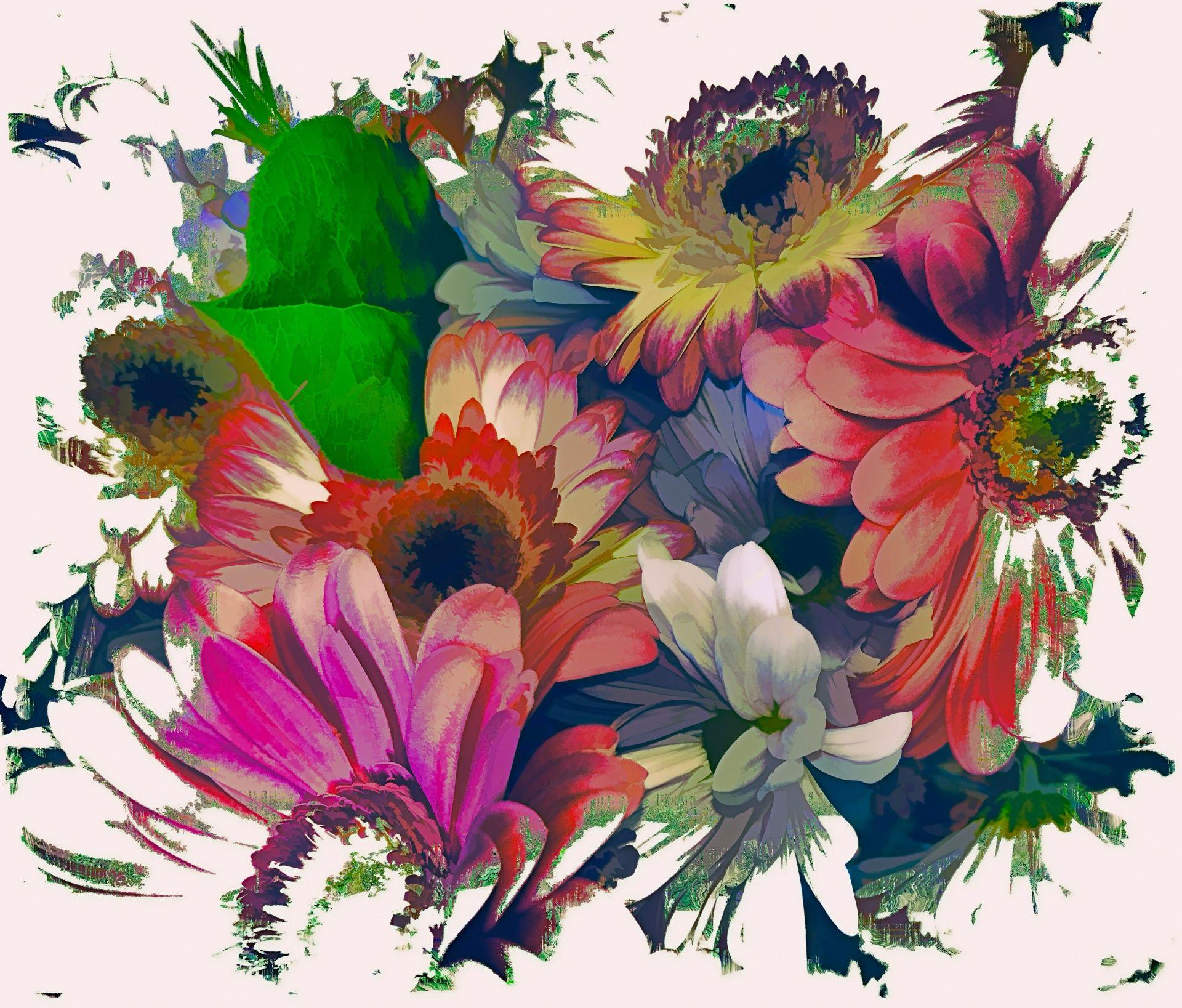 Artistic Flowers Artist Art Graphic Art