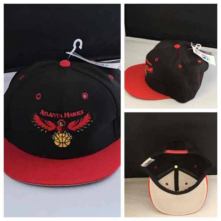 finest selection 7a00f 1d848 Atlanta Hawks Youth SnapBack Vintage Cap Official Licensed NBA Basketball  Team Adjustable NWT by PickingAlabama on Etsy