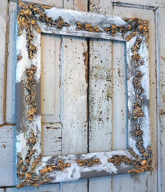 Vintage Garderobe Wandhaken Mit Spiegel Und Schlusselablage Grau