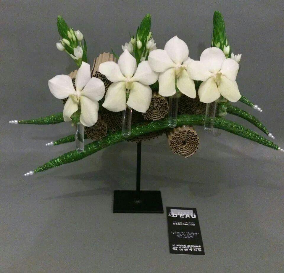 Artist De fleurs et d eau fleuriste createur   centre de table ... a1cc062a0d6