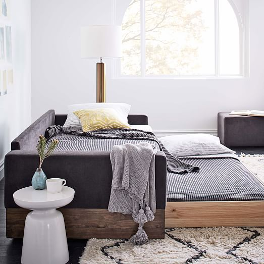 Emery Sofa Daybed Trundle West Elm 2 499