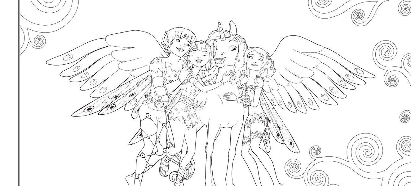 18 MIA AND ME ideas   coloring for kids, colouring pages, coloring ...