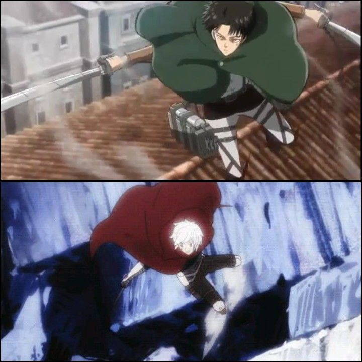 Levi and Bell -- Attack on Titan & DanMachi | Anime | Anime, Attack