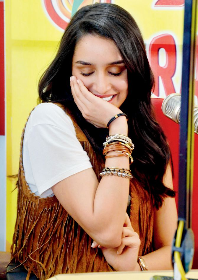 Shraddha Kapoor At A Promotional Event Radio Station For ABCD 2