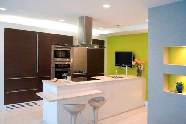 Pareti Della Cucina Verdi : Abbinare due colori in una stanza casa nuova idee cucina verde