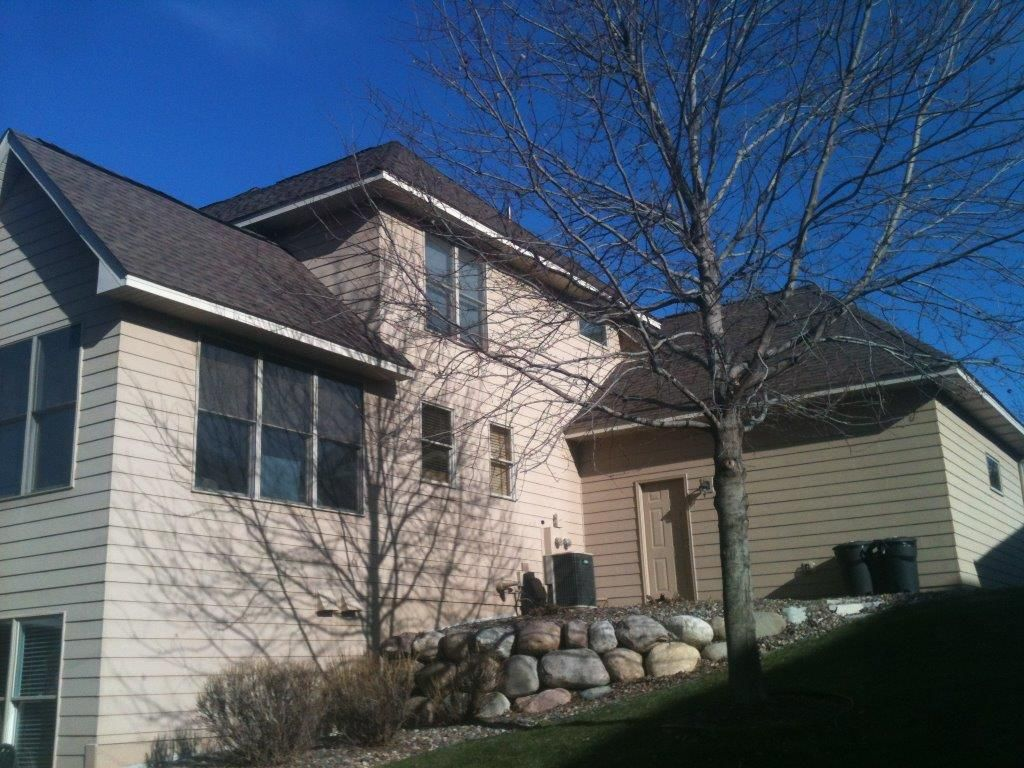 Gaf Timberland Hd Barkwood Roofing System Igh Mn Traditional Exterior House Styles Roofing Systems