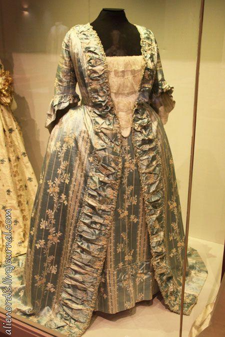 Robe à la française. 1770-е гг.