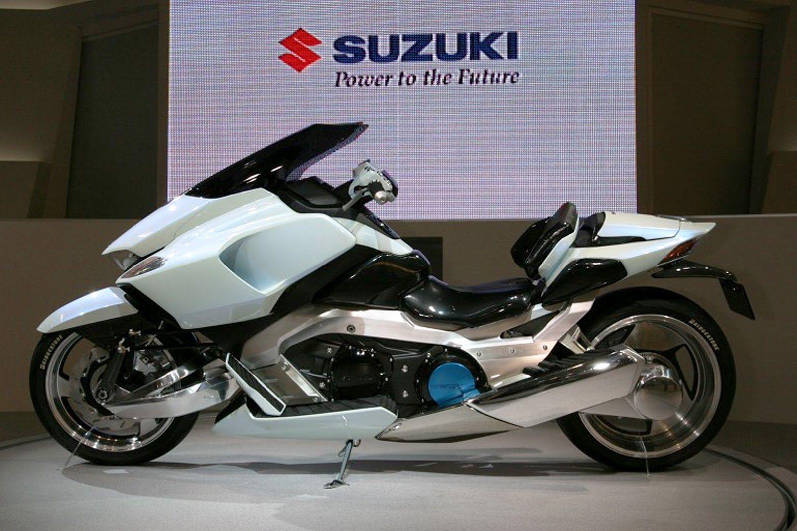 suzuki g strider 01 electric motorcycle motorbike futuristic