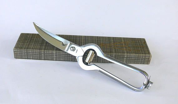 Vintage French poultry scissors