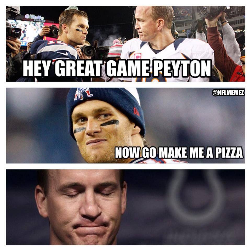 Tom Brady Peyton Manning Funny Peyton Manning vs. Tom