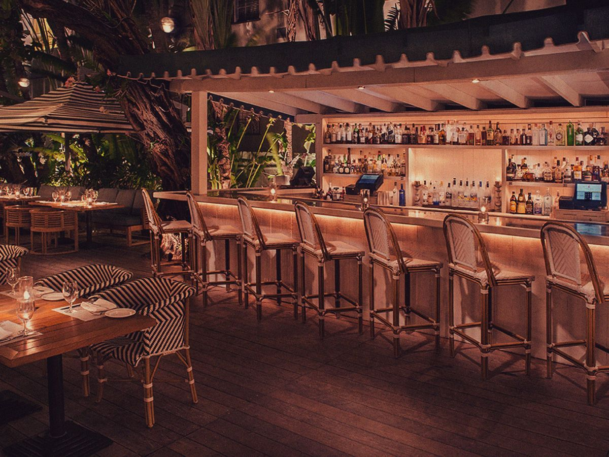 The Raleigh Hotel Miami's Hottest New Happy Hours, August