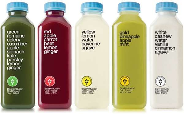Simplistic beverage branding juice drinks juice packaging and blueprint offers new refreshing and cleansing single serving juices drinking malvernweather Gallery