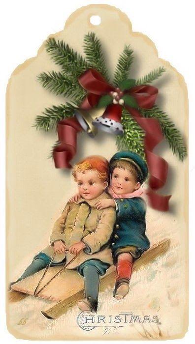 Immagini Vittoriane Natalizie.Welkom Bij Brocante Brie Cartoline Vittoriane Natale