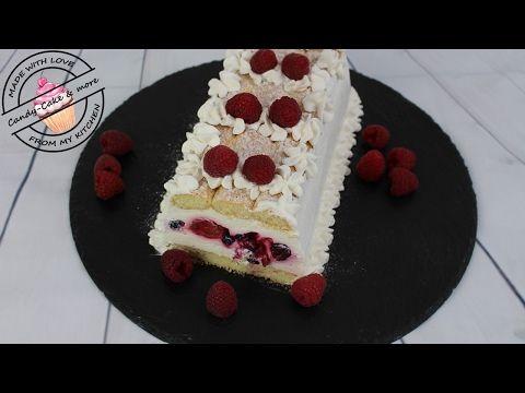 Loffelbiskuit Kuchen Mit Beeren No Bake I Ohne Backen I Kuhlschranktorte Sommertorte Youtube Loffelbiskuit Kuchen Kuchen Und Torten Dessert Ideen