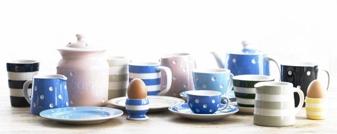 Discontinued Spares Cornishware Classic British Kitchenware By T G Green Cornishware Kitchenware Tea Party