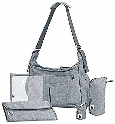 Babymoov Sac A Langer Urban Smokey Maternite Bandouliere Amazon Fr Bebes Puericulture Sac A Langer