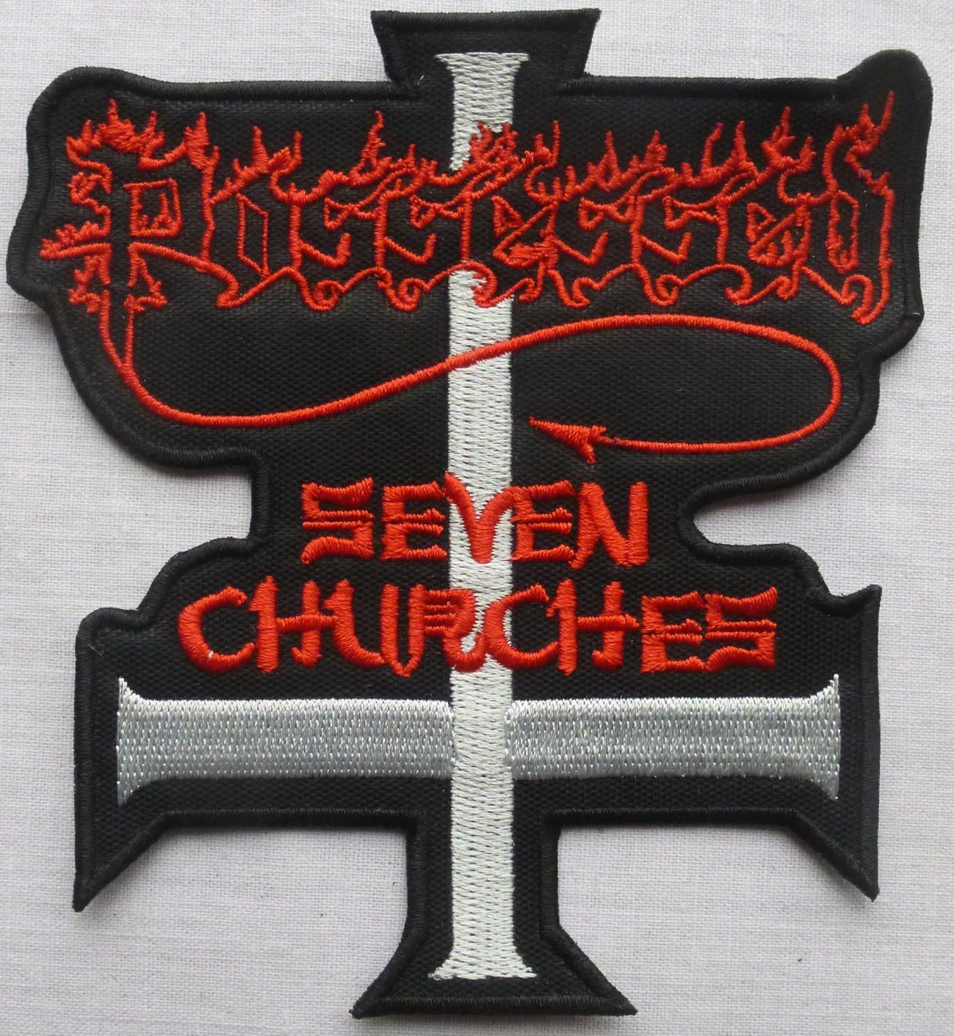 Possessed Patch Thrash Death Metal Music Band