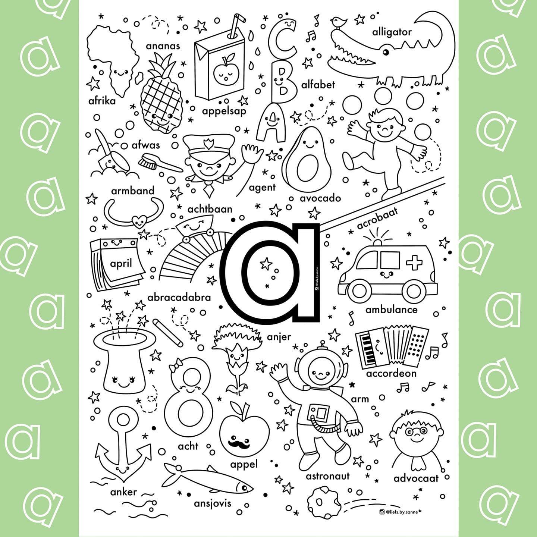 Pin Van Yuliya Op Tekenen Letterherkenning Spelletjes Alfabet Boek Alfabet