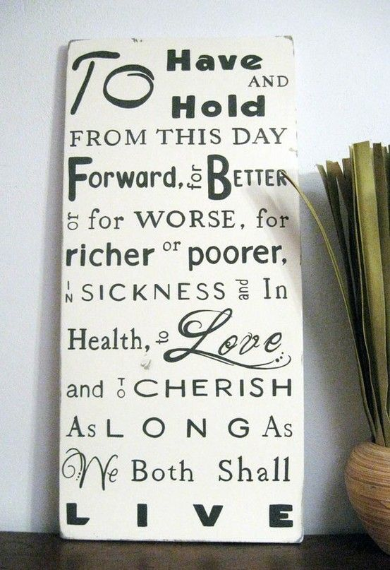 Wedding Vow Ideas For Her