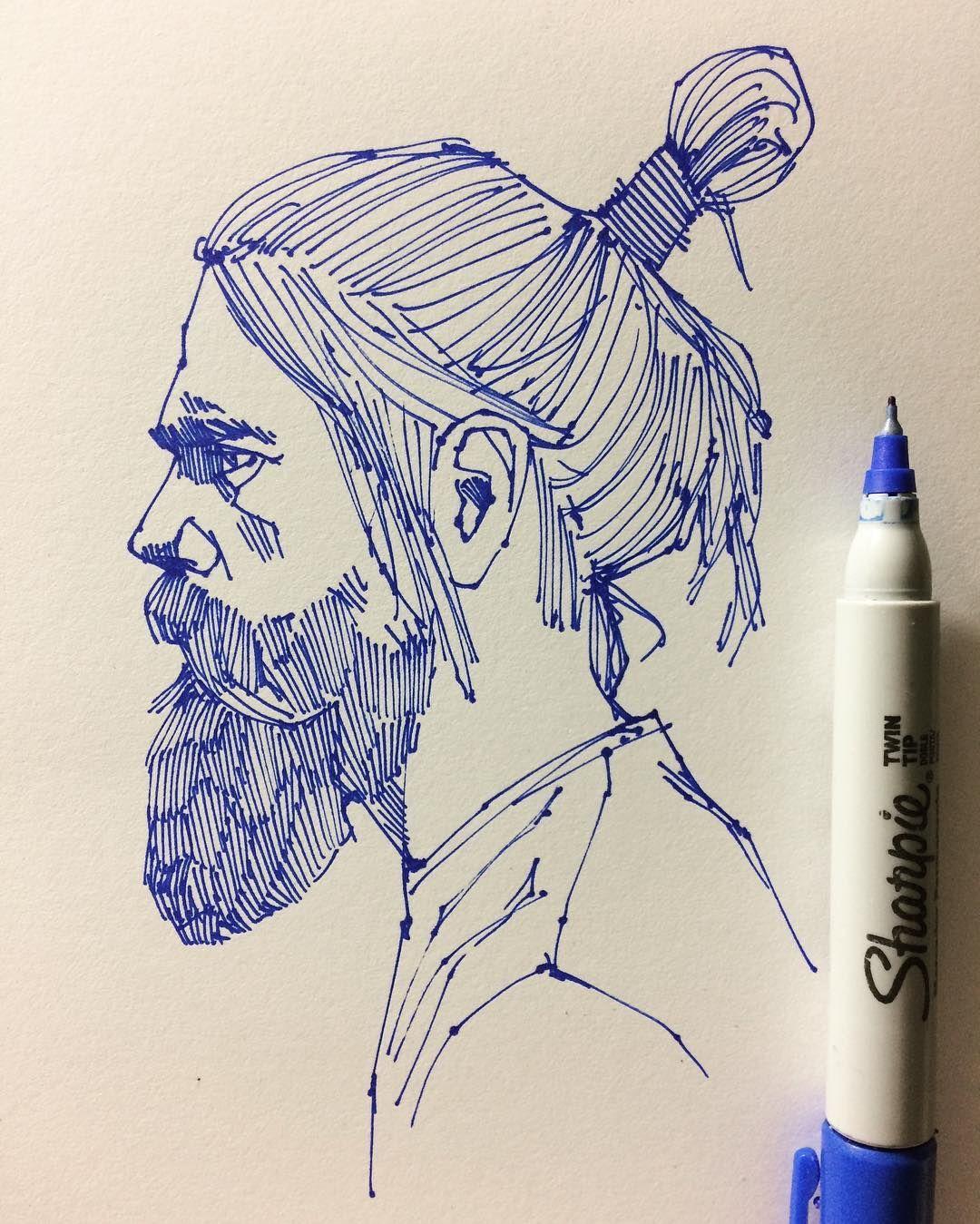 #sketching #sharpie