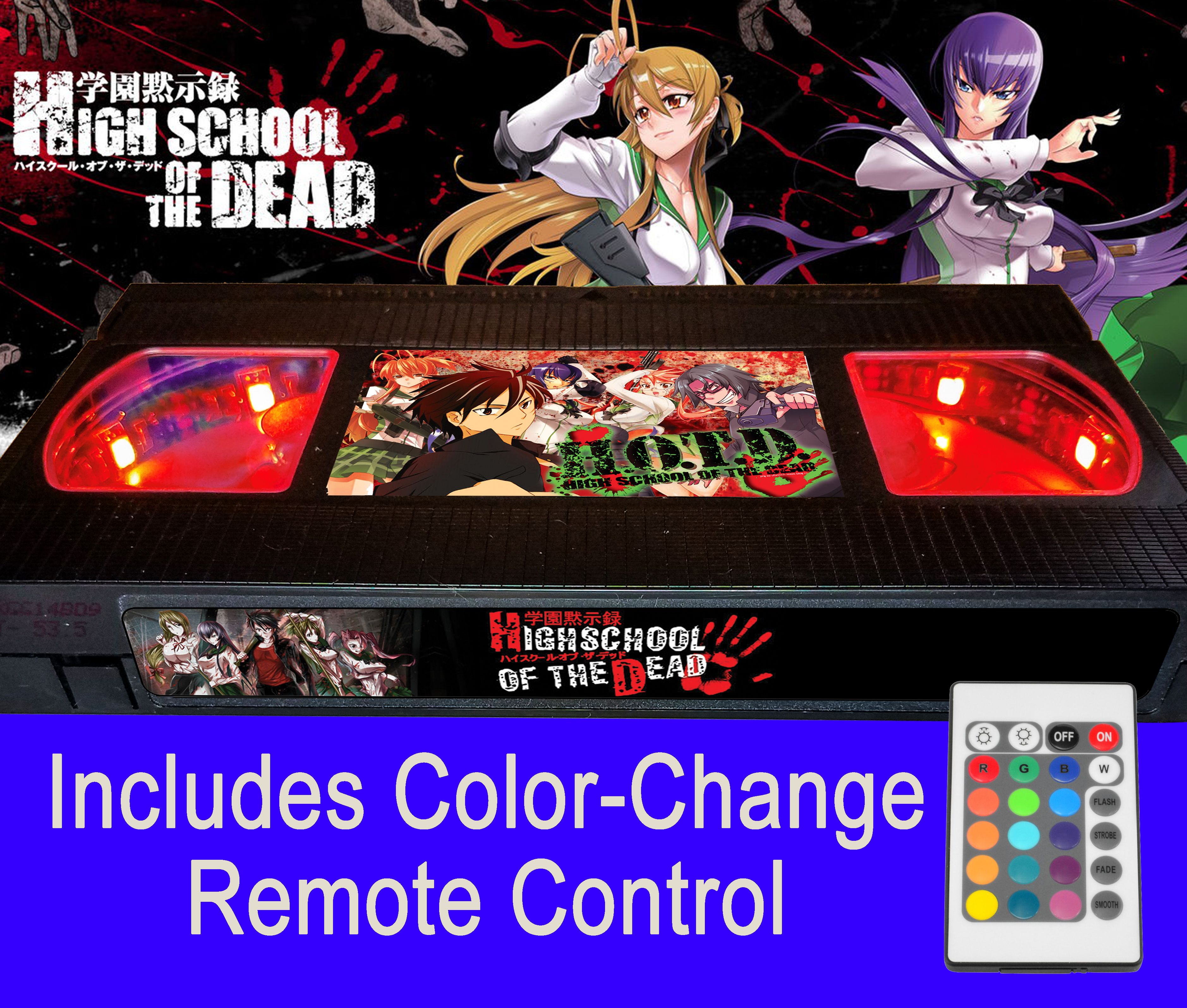 Highschool of the dead 2010 by russell from retrocraftification