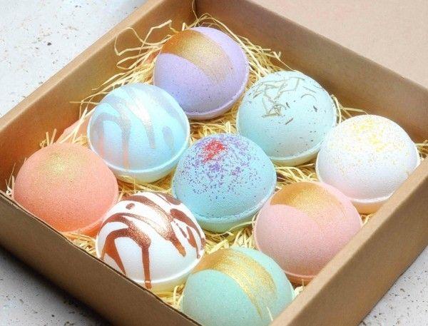 Badekugeln selber machen - das ultimative DIY Ostergeschenk