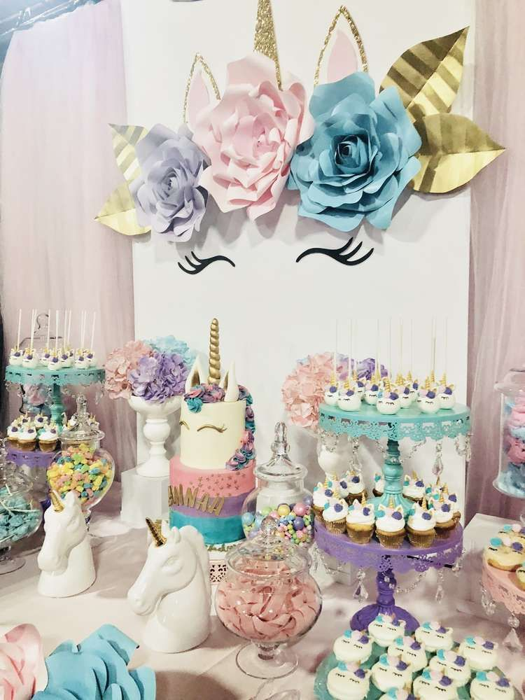 Unicorns Birthday Party Ideas