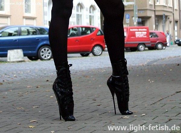 Stocking High Heels Footjob
