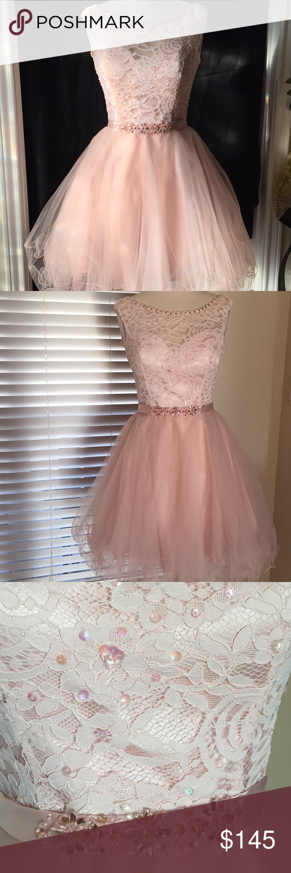 Morilee cocktail prom dress nwt