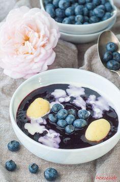 Schwedische Blaubeersuppe Rezept - typisch nordische Suppe! #soupedetoxminceur