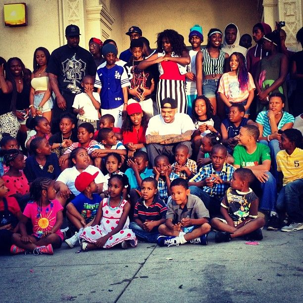 Chris Brown: Kid Chris - YouTube   Chris Brown School Pictures