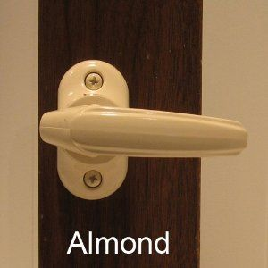 Storm Door Inside Handle Latch Almond Replacement By Internatonal Resources Inc 21 99 Home Hardware Storm Door Storm Door Handle