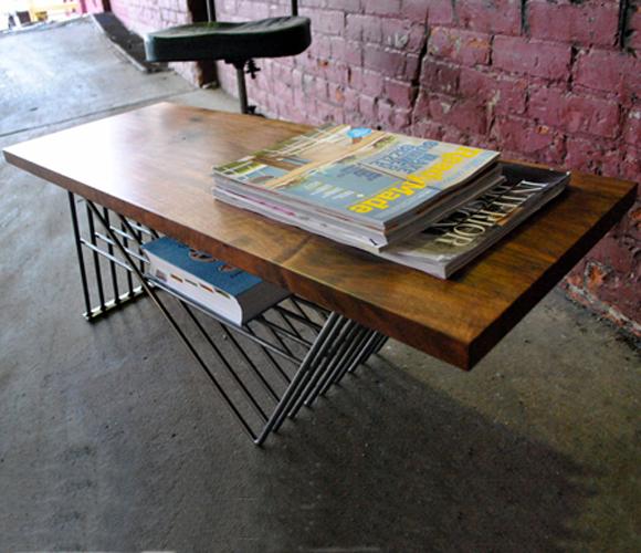 Zig Zag Coffee Table by Recyclica