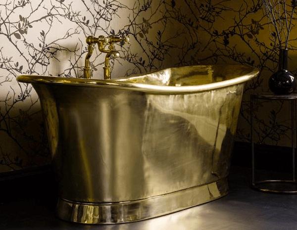 Perfect This Brass Bathtub   Emily Henderson