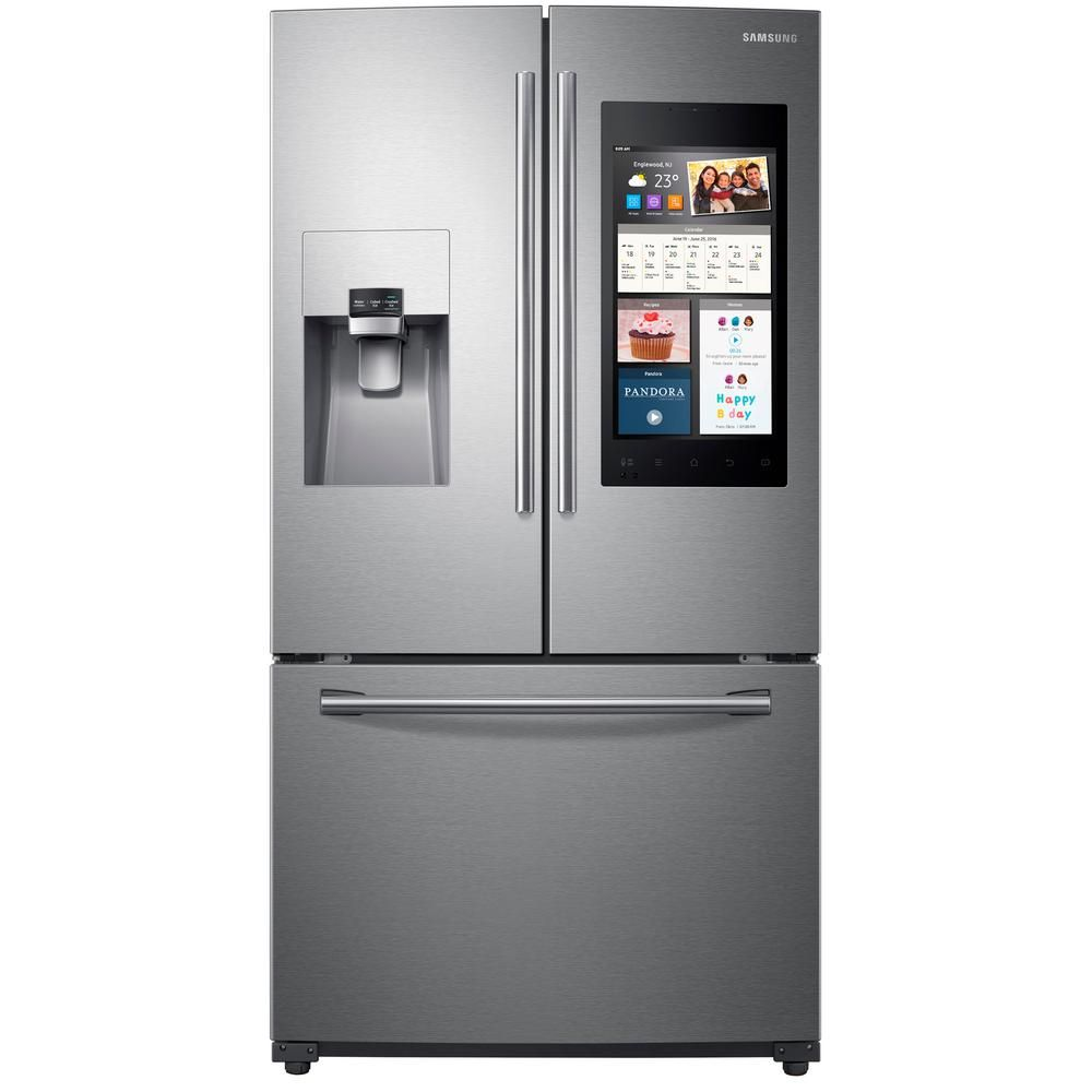 cu this perfect ft is families french pin span refrigerator for door