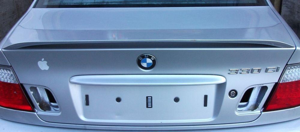 Bmw E46 3 Series Coupe Convertible Pre Facelift Boot Lid Titan