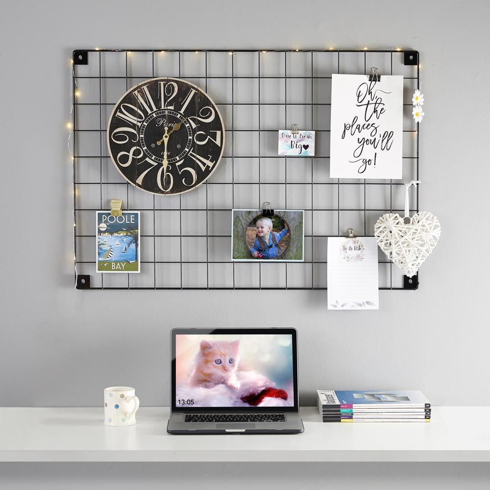 Extremely versatile you can use your gridwall panel for many things
