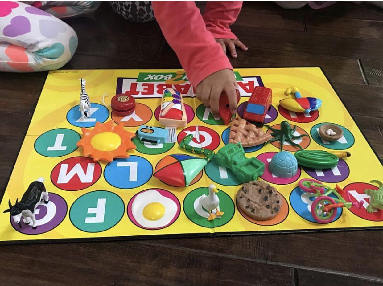 Alphabet Mystery Box Lakeshorelearning