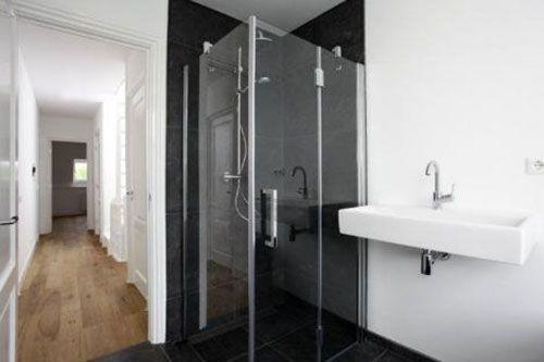 luxe moderne badkamer zwart wit - Google Search | badkamer ...