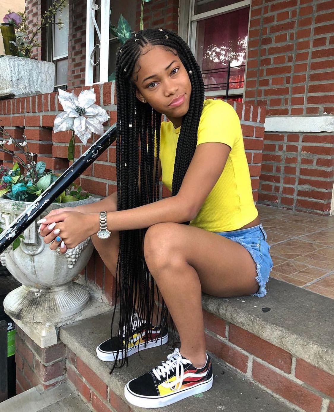 Pin by ppalix on peinado pinterest black girls hairstyles