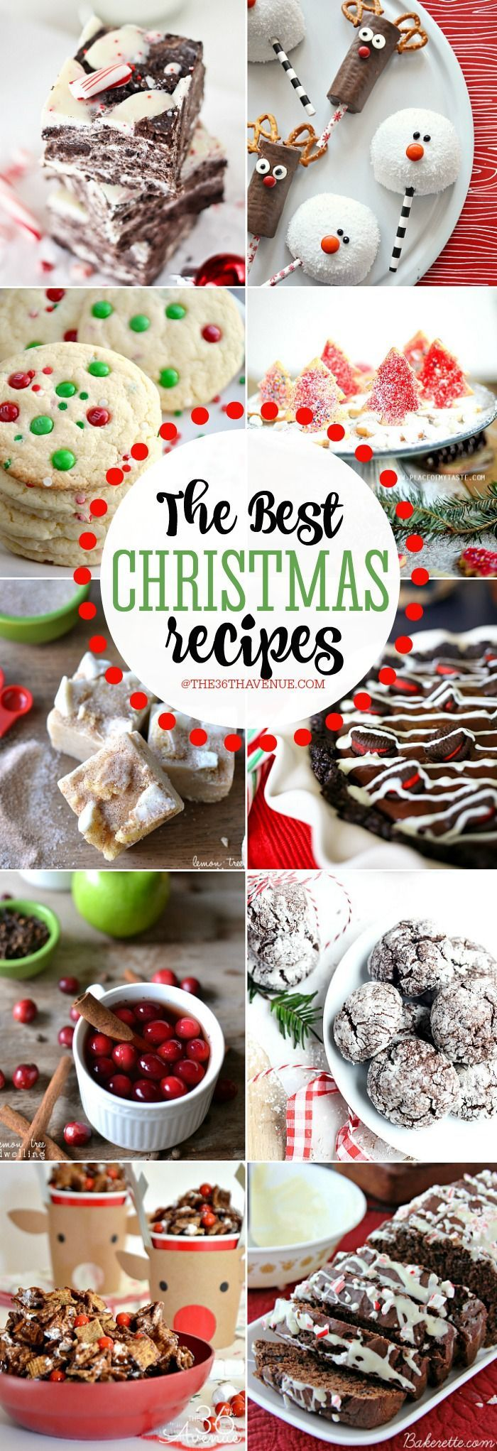 The Best Christmas Recipes | Dessert recipes, Snacks and Gift